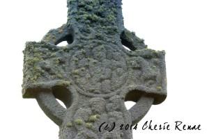 Eight century cross, Iona